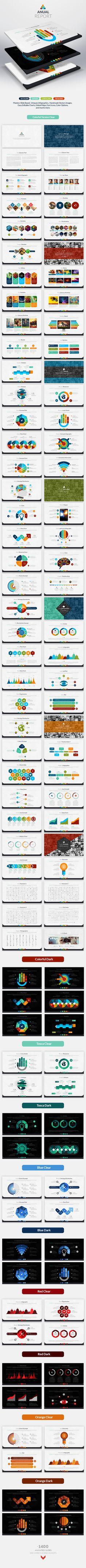 Anual Report   Keynote Presentation Template   #keynote   Buy and Download…