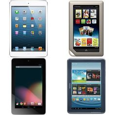 Tablets and eReaders, I'd own them all and fill them up w/ EVERYTHING