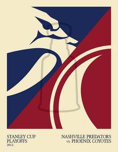 Bring on the second round!  2012 Stanley Cup Playoffs: Nashville Predators vs. Phoenix Coyotes