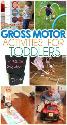 Gross motor skills gross motor and 2 year olds on pinterest for Gross motor skills for 2 year olds