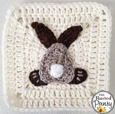 I think I've lost my crojo…. this bunny is all I've mustered to crochet in the last week and a half. I've been really busy, though… my daughter hada birthday of which…