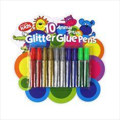 Glitter Glue Colour Pens Pack of 10 on eBid United Kingdom