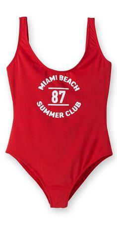 Un maillot de bain une pièce Pimkie / One-piece swimwear Pimkie