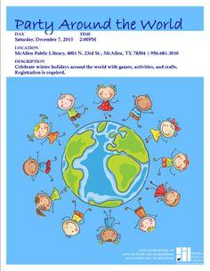 Party Around the World. Dec 2013, MPL Children's.