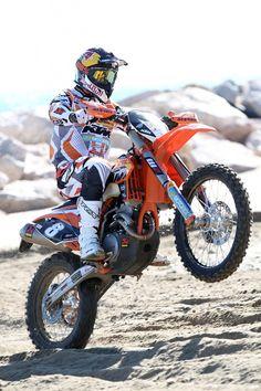 KTM motor cross