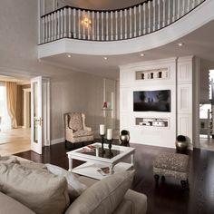 Дизайн интерьера двухэтажного дома в пастельных тонах
