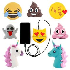 Hot new products customized emoji power bank 2600mah