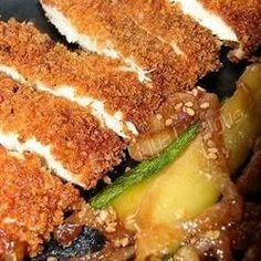"Chicken Katsu | ""Great recipe! The chicken katsu came out crunchy and delicious."""