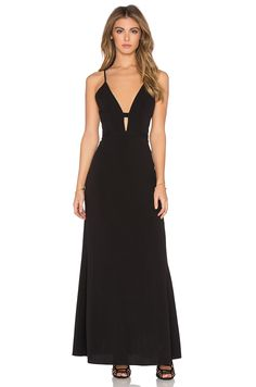 31f8bf6c448b NBD x Naven Twins Everytime Maxi Dress in Black