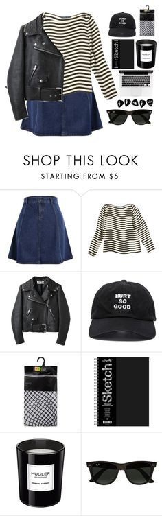 """#2108"" by credendovides ❤ liked on Polyvore featuring Ralph Lauren, Acne Studios, Blackfist, Thierry Mugler and Ray-Ban"