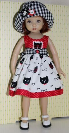 COoL-CaTs-fits-13-Effner-Little-Darling-Dress-Set