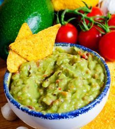 Have a healthy Cinco de Mayo! SHAPE lists over 40 recipes for mouthwatering yet guilt-free Mexican meals (including guacamole), avocado desserts, and delicious, low-cal cocktails (yes, even margaritas! Hard Avocado, Avocado Dip, Good Food Channel, Avocado Dessert, Honey Mustard, Recipe Collection, Baked Chicken, Food Pictures, Appetizer Recipes