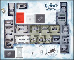 Mondo x Project Raygun THE THING Board Game | Figures.com