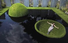 world vision garden_royal horticultural society flower show_hampton court_london 2011