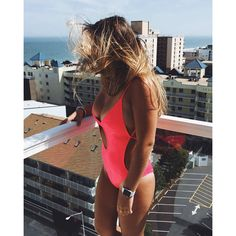 63af60b73efb4 ONE PIECE WONDERS · 2018 Bikinima: NEON BRITES MONOKINI   Kayokoko Swimwear  #designerswimwear #2018 #ootd #