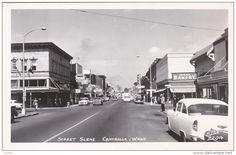 RP: Main Street , CENTRALIA , Washington , 30-40s ; ELLIS # 2204 - Delcampe.com