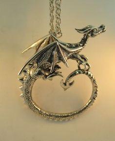 Dragon Circle Necklace