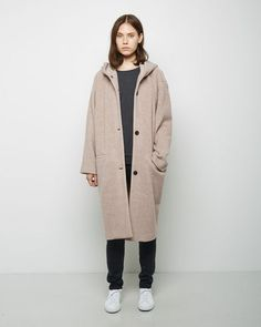 6397 | Hooded Sweater Coat | La Garçonne