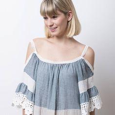 El #verano y la magia del espíritu boho...🌾 #algobonito #algobonitoonline #vestido #dress #moda #summer #encaje #nuevacoleccion #boho #shoulderoff