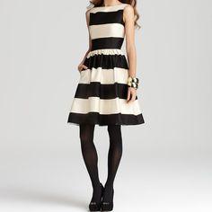 Fancy - Carolyn Stripe Dress by Kate Spade