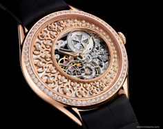 Vacheron Constantin SIHH 2014 Métiers d'Art Fabuleux Ornements - Ottoman architecture Chamfering, mother-of-pearl, and half-pearl beads