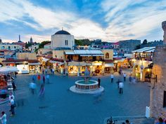 Rhodes: woods, beaches and ancient culture