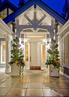 Cape Cod Inspiration by Design Guild Homes - traditional - Entry - Seattle - DESIGN GUILD HOMES