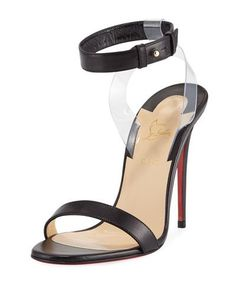6481022f320f CHRISTIAN LOUBOUTIN Jonatina Illusion Red Sole Sandal