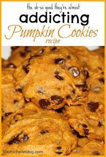 addicting pumpkin cookie recipe