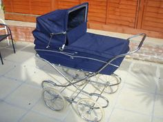 1970s Mothercare coach built pram.