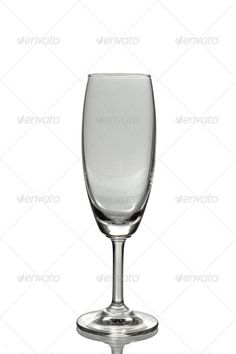 Wine glass ...  clear, closeup, drink, empty, glass, isolate, new, party, translucent, transparent, white, wine