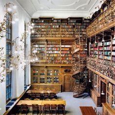 Bibliotheek! Prachtig, wie wil dit niet?