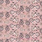 Beth Snyder 1canoe2 Bicycles Pink [AF-7564-E] - $10.95 : Pink Chalk Fabrics is your online source for modern quilting cottons and sewing patterns., Cloth, Pattern + Tool for Modern Sewists