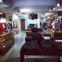 Suka in London - gentlemans sports boutique