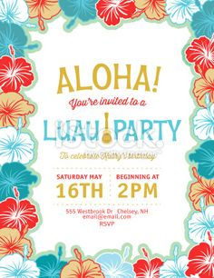 Lemonade Summer Beach Party Invitation Template Royalty Free Stock