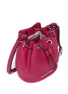 MICHAEL MICHAEL KORS - 'Jules' leather crossbody bucket bag | Pink Crossbody Shoulder Bags | Womenswear | Lane Crawford