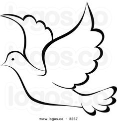 dove outline template - Google Search