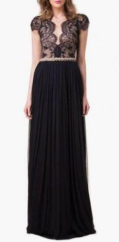 Graceful Cap Sleeve Open Back High Waist Dress