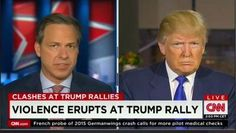 Full Video: Donald Trump CNN State of the Union Interview on Rally Protests and Violence