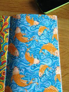 Kleurboek voor volwassenen, made by Jill