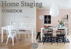 Home staging de un comedor http://www.decoracionpatriblanco.es/2015/12/home-staging-de-un-comedor.html