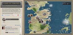 Game of Thrones Interactive Map: Are You Ready for Clash of Kings? Game O Thrones, Interactive Map, Infographics, Games, Infographic, Gaming, Info Graphics, Plays, Game