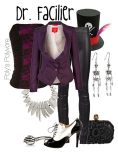 """Dr. Facilier"" by polyspolyvore ❤ liked on Polyvore featuring Alexander McQueen, The Row, Monies, Jane Norman, Butter, Vivienne Westwood Red Label, women's clothing, women's fashion, women and female"