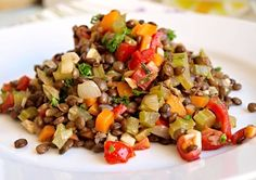 Raw Food Recipes, Lunch Recipes, Salad Recipes, Diet Recipes, Vegetarian Recipes, Cooking Recipes, Healthy Recipes, Home Food, A Table