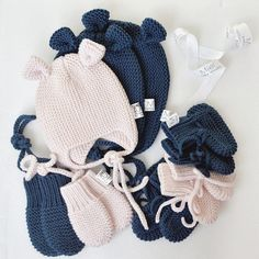 Baby Hat Knitting Patterns Free, Baby Cardigan Knitting Pattern, Crochet Patterns, Kids Beanies, Baby Booties, Crochet Yarn, Baby Hats, Knitted Hats, Diy And Crafts