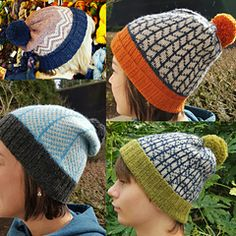 Ravelry: Rogue Stranded Hats - patterns