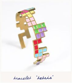 Retro blocks (bracelet)