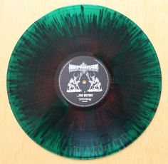 """Bolt Thrower – …For Victory (2014 FDR Repress) """"bloodied battlefied"""" red & green splatter vinyl"""