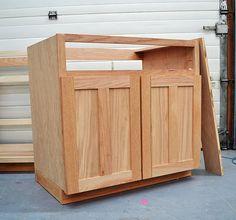 Kitchen Cabinet Construction Plans Cabinet Building Basics For Diy ...