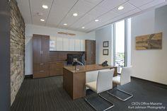 CEO's Office at Mazuma Credit Union http://www.kurtjohnsonphotography.com/